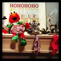 Elmo on a shelf alternative to Elf of a Shelf