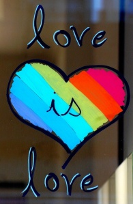 Love is love, stop homophobia